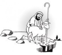 A ovelha perdida na igreja