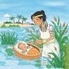 Deus manteve o menino Moisés a salvo